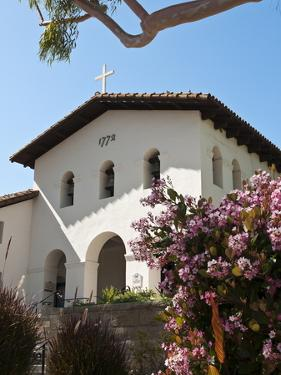 Old Mission San Luis Obispo De Tolosa, San Luis Obispo, California, USA by Michael DeFreitas