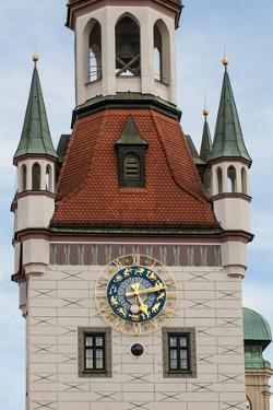 Old Town Hall clock tower Munich, Bavaria, Germany. by Michael DeFreitas