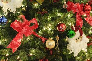 Palm Springs, California. Christmas decorations. by Michael DeFreitas