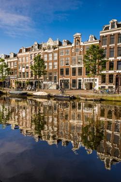 Prinsengracht Canal, Amsterdam, Holland, Netherlands. by Michael DeFreitas