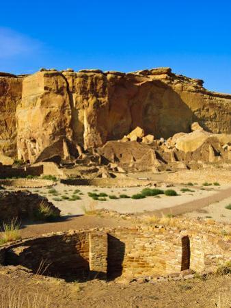 Pueblo Bonito Chaco Culture National Historical Park Scenery, New Mexico by Michael DeFreitas