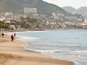 Puerto Vallarta Beach, Puerto Vallarta, Jalisco, Mexico, North America by Michael DeFreitas