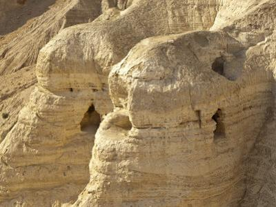 Qumran Caves, Israel, Middle East by Michael DeFreitas