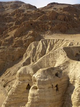 Qumran Caves, Israel, Middle East by Michael DeFreitas