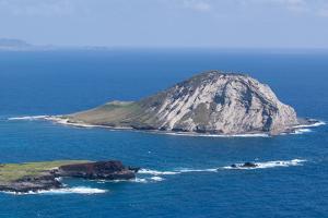 Rabbit Island, Waimanalo Bay, Windward Coast, Oahu, Hawaii, United States of America, Pacific by Michael DeFreitas