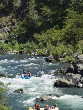 Rafting on the South Fork of the Trinity River by Michael DeFreitas