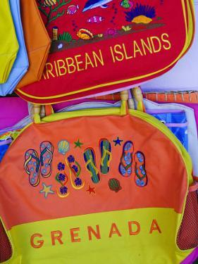 Souvenirs at Grand Anse Craft and Spice Market, Grenada, Windward Islands, Caribbean by Michael DeFreitas