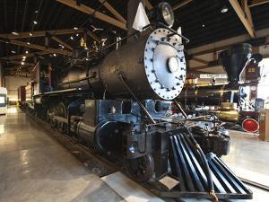 Steam Locomotive, Nevada State Railroad Museum, Carson City, Nevada, USA, North America by Michael DeFreitas