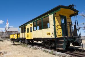 Steam Train Engine, Gold Hill Train Station, Virginia City, Nevada, USA by Michael DeFreitas