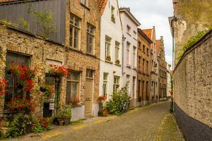 Street scene, Bruges, West Flanders, Belgium. by Michael DeFreitas