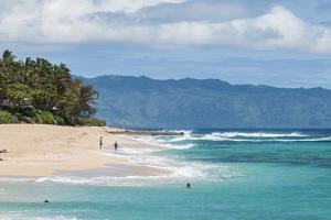 Sunset Beach, North Shore, Oahu, Hawaii by Michael DeFreitas