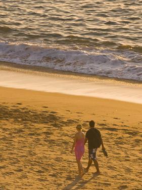 Sunset on Puerto Vallarta Beach, Puerto Vallarta, Jalisco, Mexico, North America by Michael DeFreitas