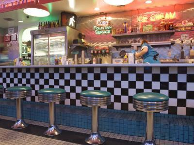 The 66 Diner Along Historic Route 66, Albuquerque, New Mexico by Michael DeFreitas