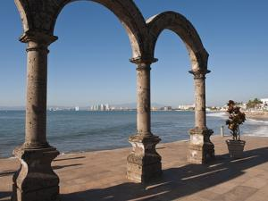 The Arches Sculpture on the Malecon, Puerto Vallarta, Jalisco, Mexico, North America by Michael DeFreitas