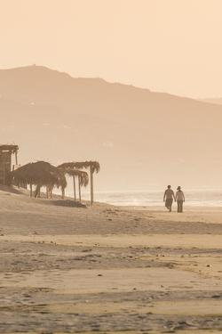 The Beach at Mancora, Peru, South America by Michael DeFreitas