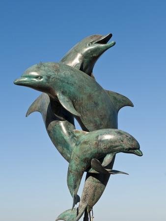 The Friendship Fountain Sculpture on the Malecon, Puerto Vallarta, Jalisco, Mexico, North America