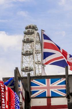 The London Eye or Millennium Wheel, London, England. by Michael DeFreitas