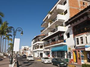 The Malecon, Puerto Vallarta, Jalisco, Mexico, North America by Michael DeFreitas