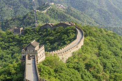 The Original Mutianyu Section of the Great Wall, Beijing, China by Michael DeFreitas