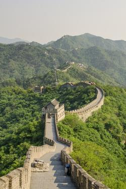 The Original Mutianyu Section of the Great Wall, UNESCO World Heritage Site, Beijing, China, Asia by Michael DeFreitas