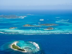 Tobago Cays and Mayreau Island, St. Vincent and the Grenadines, Windward Islands by Michael DeFreitas