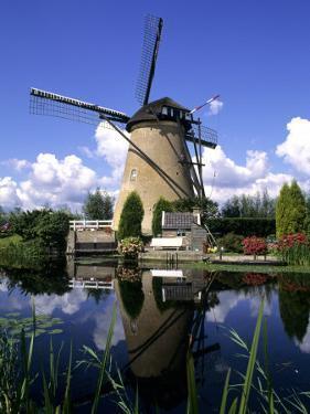 Windmill in Kinderdijk, Holland by Michael DeFreitas