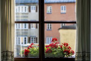 Window with flower box Old Town, Innsbruck, Tyrol, Austria. by Michael DeFreitas