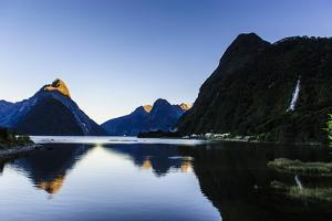 Early Morning Light in Milford Sound by Michael
