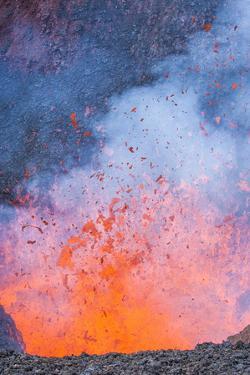 Eruption, Tolbachik Volcano, Kamchatka, Russia, Eurasia by Michael