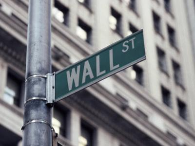 Wall Street Sign, Financial District, NYC, NY by Michael Evans