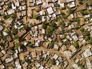 Poor Neighborhood in Urban Maputo, Mozambique by Michael Fay