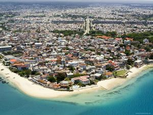 Stone Town of Zanzibar is the Cultural Center of the Island, Tanzania by Michael Fay