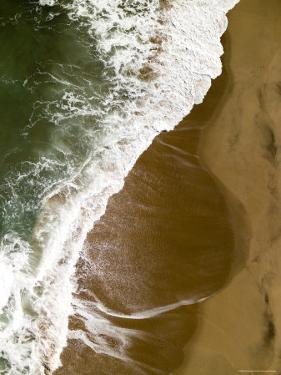 The Atlantic Ocean on the Namibian Coastline by Michael Fay