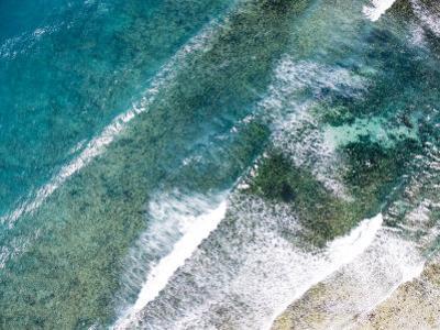 Turquoise Waves Breaking Off Shore, Eastern Zanzibar by Michael Fay