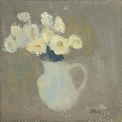 White Flowers, 2016 by Michael G. Clark
