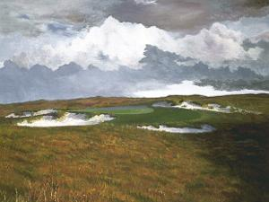 Passing Weather, 17th at Sand Hill by Michael G^ Miller