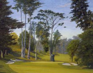 Shady Afternoon at the Olympic Club, No. 11 Lake Course by Michael G. Miller