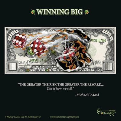 $1,000 Bill Winning Big