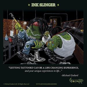Ink Slinger by Michael Godard