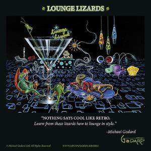 Lounge Lizards by Michael Godard