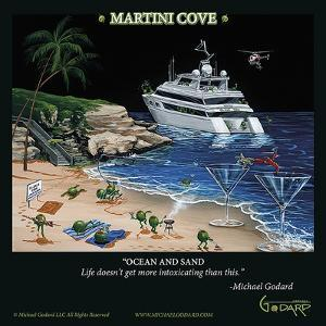 Martini Cove by Michael Godard
