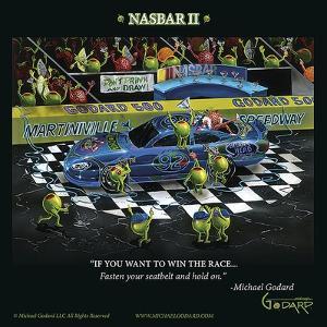 Nasbar 2 by Michael Godard