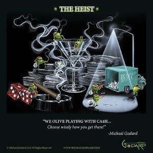 The Heist by Michael Godard