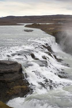 Gullfoss, Golden Circle Tour, Iceland, Polar Regions by Michael