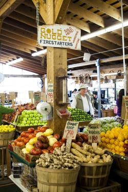 A Display of Fresh Produce at Sunny Farms Country Store in Port Angeles by Michael Hanson