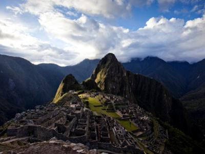 Machu Picchu, an Archaeological Site in Peru, from Above by Michael Hanson