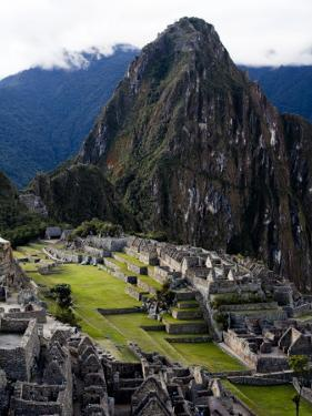 Machu Picchu, an Archaeological Site in Peru by Michael Hanson