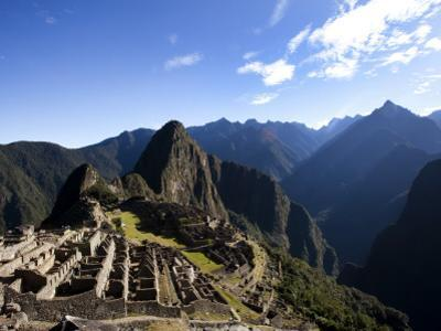 Machu Picchu, Ruins Leftover from the Inca Empire, in Peru by Michael Hanson