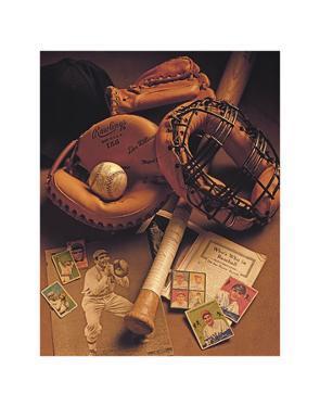 Baseball I by Michael Harrison
