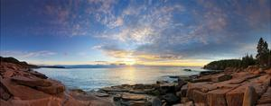 Acadia Sunrise by Michael Hudson